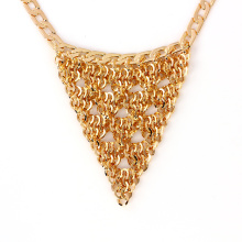 41238 xuping hot sale gold plated indian jewelry fashion 18k delicate elegant gold plated jewelry necklace